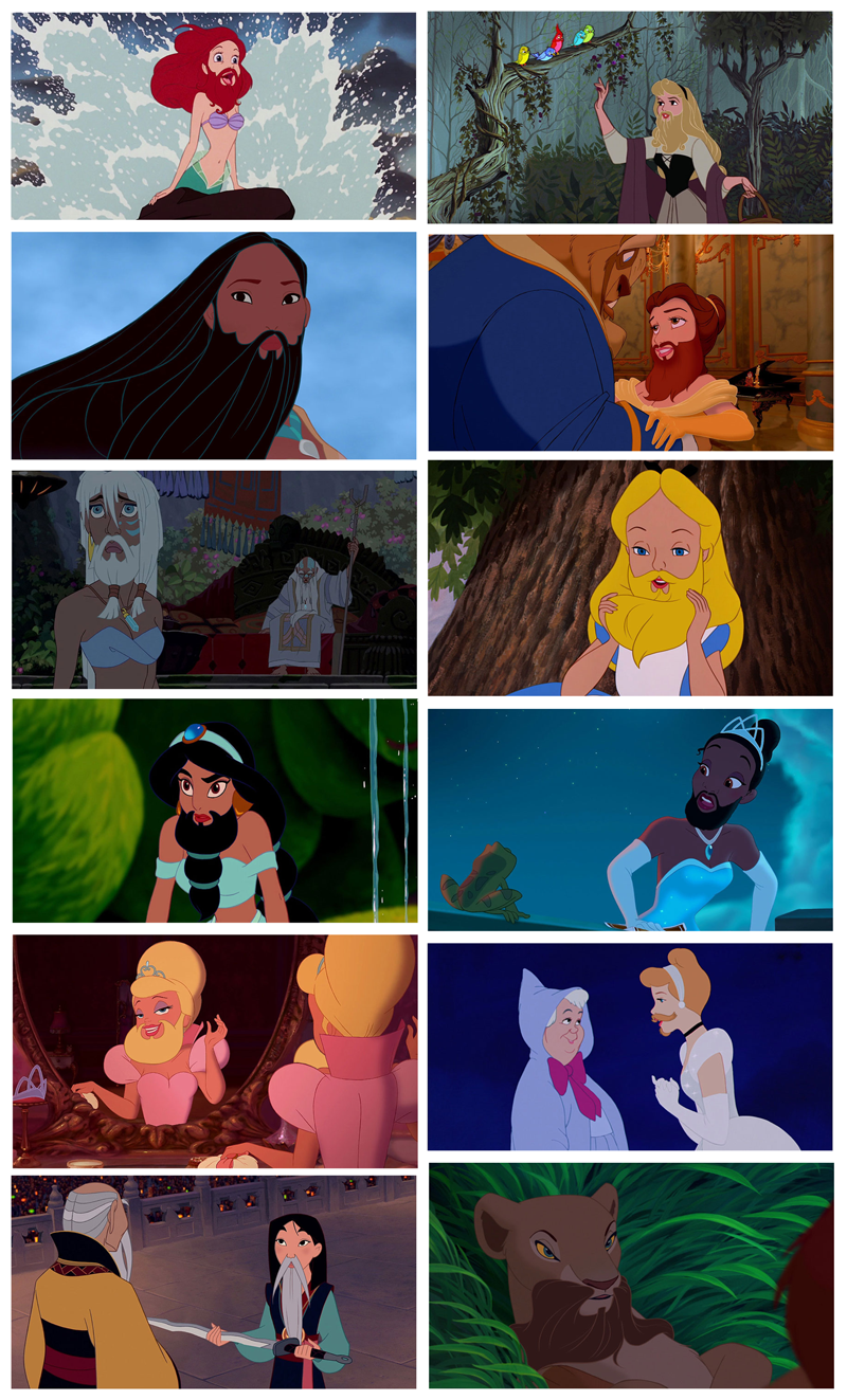 DisneyBeards-Movember