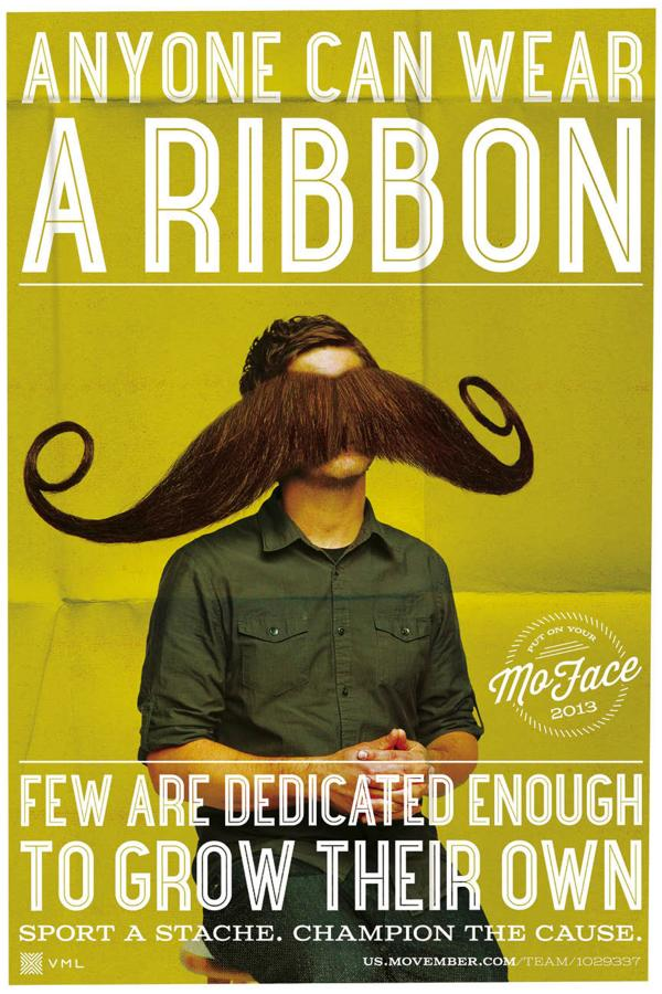 Movember Print Ad by VML