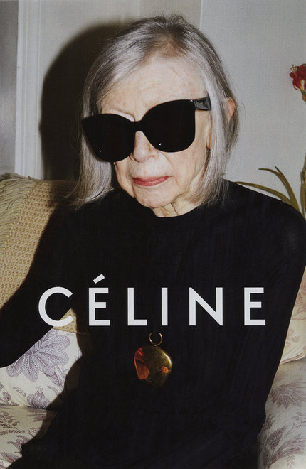Joan-Didion-for-Celine-SS15 Campaign