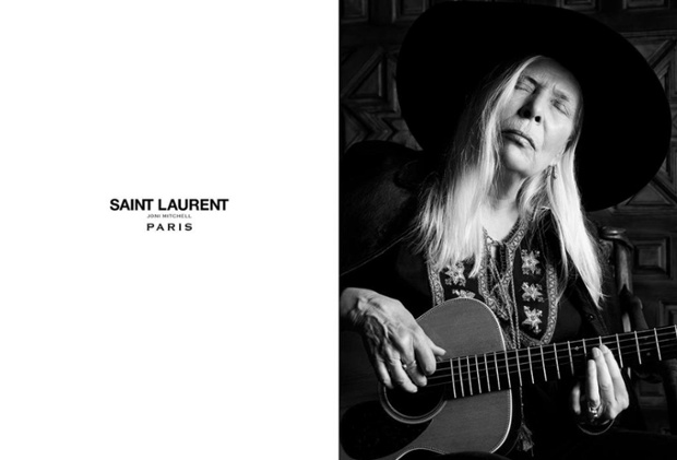 Joni-Mitchell-for-Saint-Laurent-SS15 Campaign