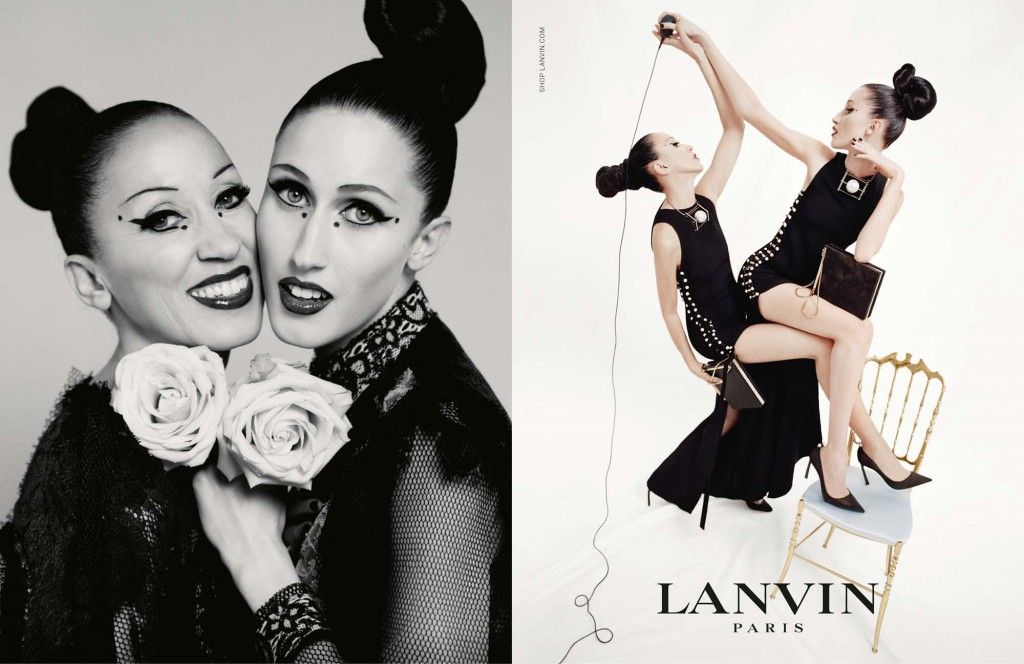 LANVIN_SS15_WDP_03_Pat Cleveland and Anna Cleveland