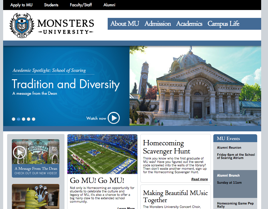 Monsters University-Blockbuster-Campaigns