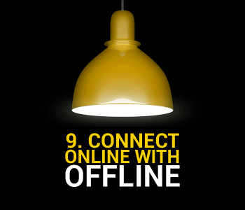 Connect Online With Offline