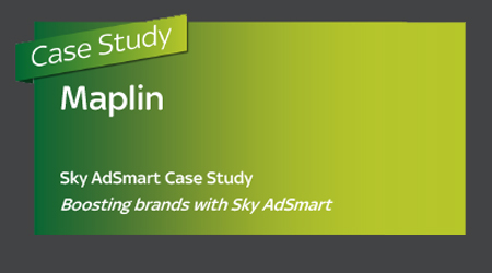 AdSmart TV Case Study Maplin