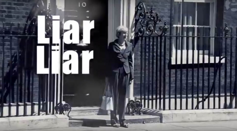 What's going on with the marketing in the general election 2017?