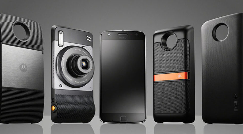 Is Modular tech still the future showing the new modules covers for the new Motorola phone.