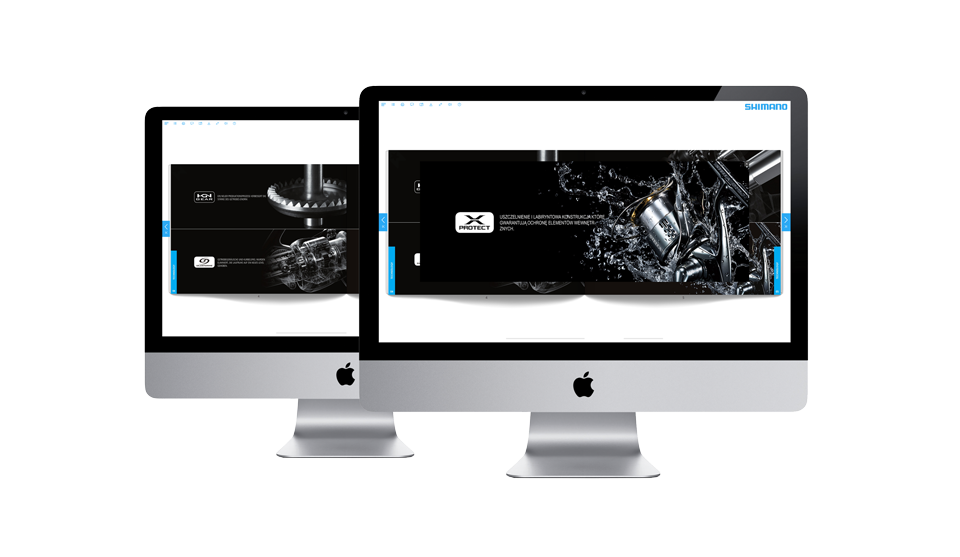 Digital Brochures: Shimano
