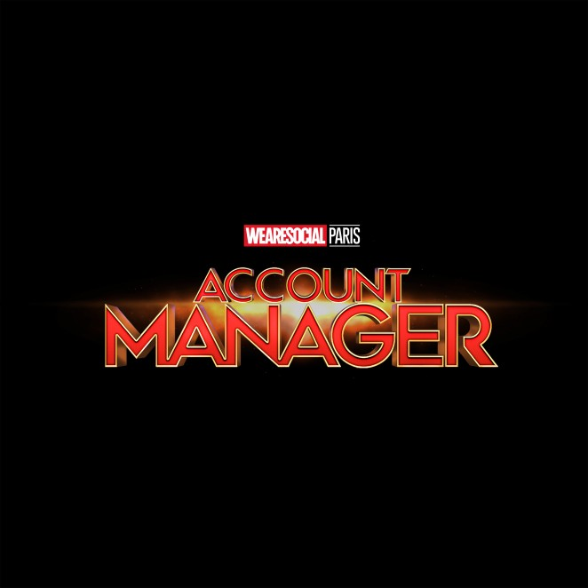 Creative Teams meets Marvel-WeAreSocial-AccountManager